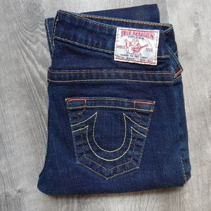 True Religion / blue jeans